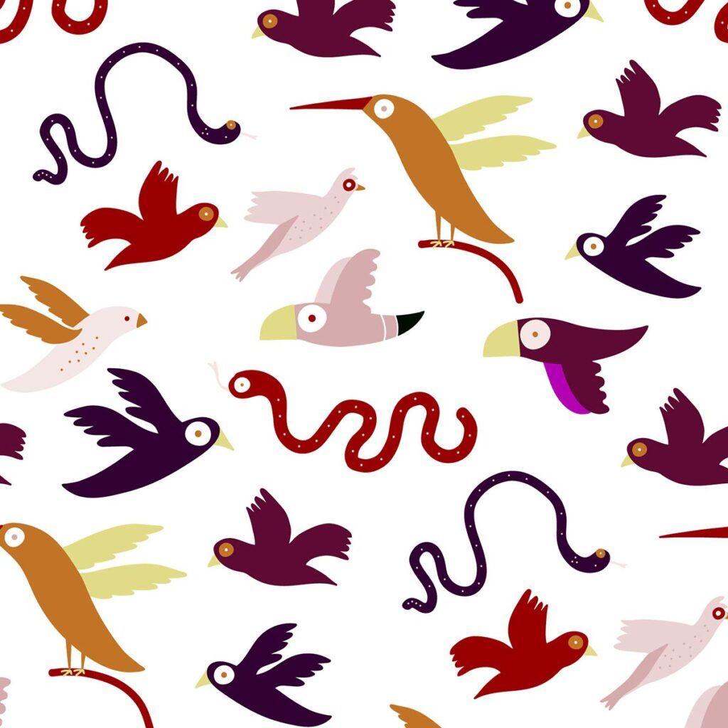 collezione jungle birds wanessa shop