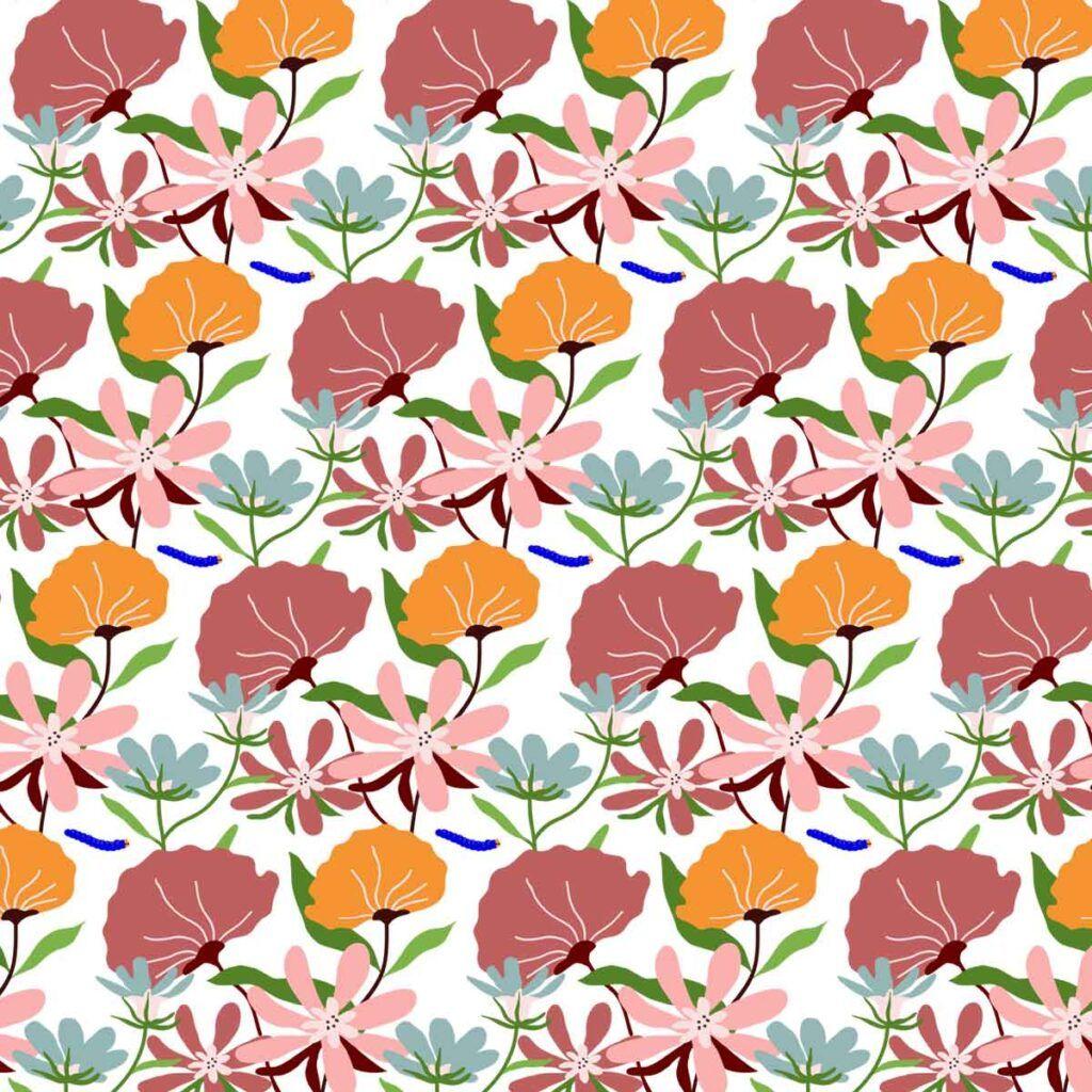 collezione pink flowers wanessa